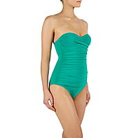 Key West Ruched Bandeau Control One Piece