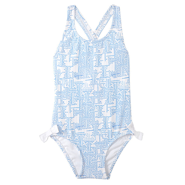 Montauk Girls Crossed Back One Piece