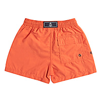 Portland Boys Short Trunks in Orange