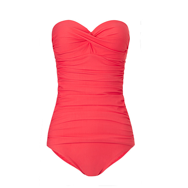 Sardinia Ruched Bandeau Control One Piece