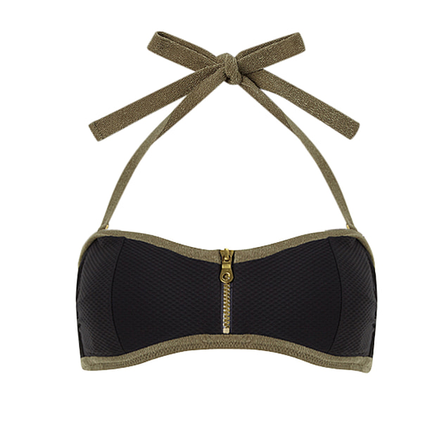 Bridgehampton Binding Bandeau Top