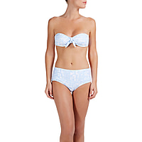 Montauk Padded Bandeau with High Waisted Bottoms