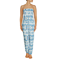 Greater Palm Springs Elasticated Bandeau Jumpsuit