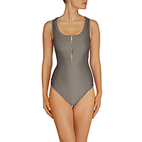 Huntington Beach Binding Racer Back One Piece