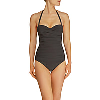 Oslo Ruched Bandeau Control One Piece