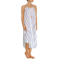 Folly Island Tassel Maxi Dress