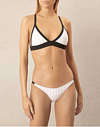 BB TRIANGLE BIKINI - PINK - STRIPE