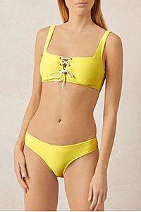 CANCUN HIPSTER BOTTOM YELLOW