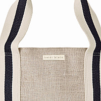 Bimini Stripe Canvas Beach Tote