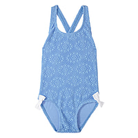 Bonnie Crossed Back Girls One Piece