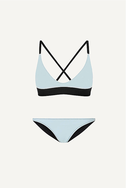 bb Reversible Cross Back Scoop Bikini