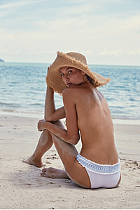 Cape Elizabeth Raffia Wide Brim Frayed Hat