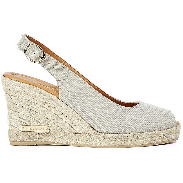 Montego Bay Peep Toe Shoe in Mushroom
