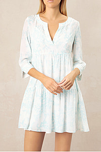 Marseille V Neck Tunic Dress