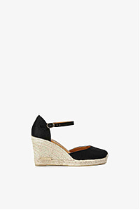 Montego Bay Canvas Wedge Shoe