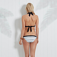 Nassau Halter Push Up Bikini