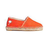 Newport Beach Kids Espadrilles in Orange