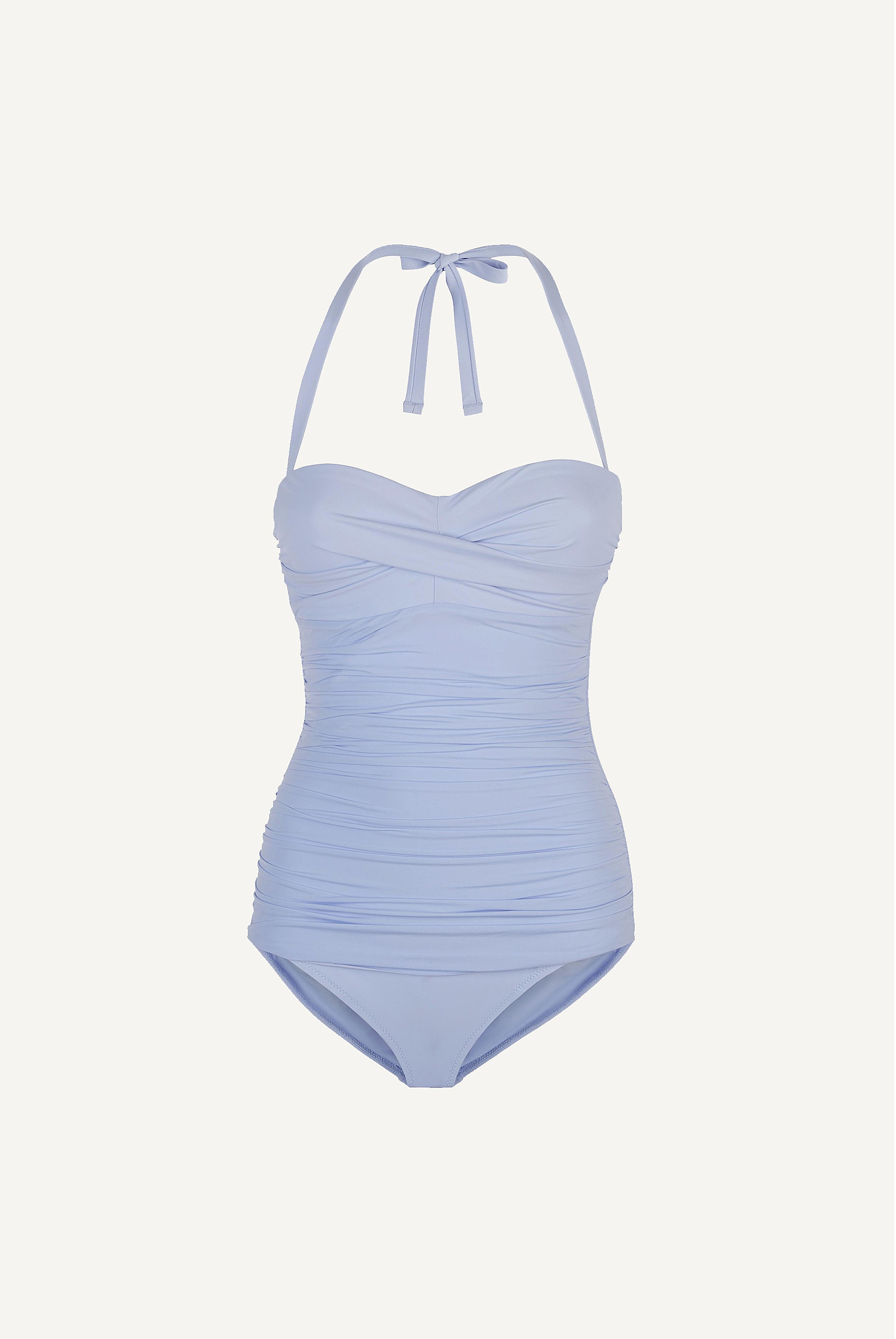 Body Ruched Bandeau One Piece