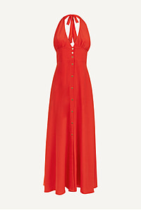 Pampelonne Halterneck Maxi Dress