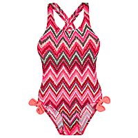 Poppy Crossed Back Girls One Piece