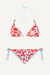 Quincy Bay Reversible Rope Padded Triangle Bikini