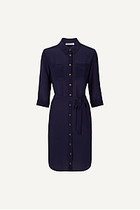 Salina Relaxed Shirt Dress