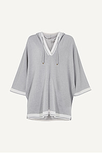 St Moritz Cashmere Batwing Hoodie