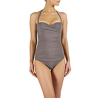 Namibia Ruched Bandeau Control One Piece