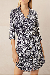 Tanzania Relaxed Shirt Dress