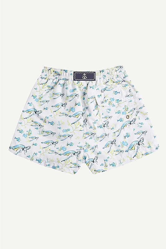 Oliver Printed Short Trunks