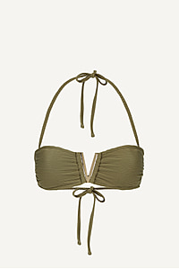 Venice V-Bar Padded Bandeau Top
